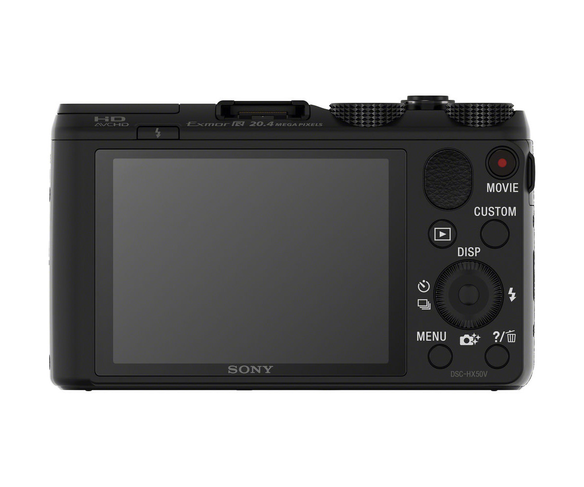 Sony Cybershot HX50V - Rear View