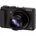 Sony Cybershot HX50V - Left Front View