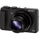 Sony Cybershot HX50V - Left Front View