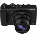 Sony Cybershot HX50V - Upper Front View