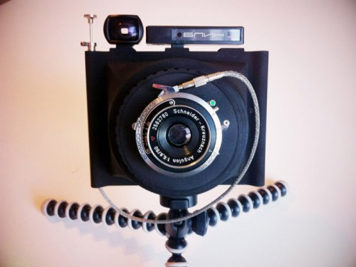 Wanderlust Travelwide 4x5 Point-and-Shoot Film Camera • Camera ...