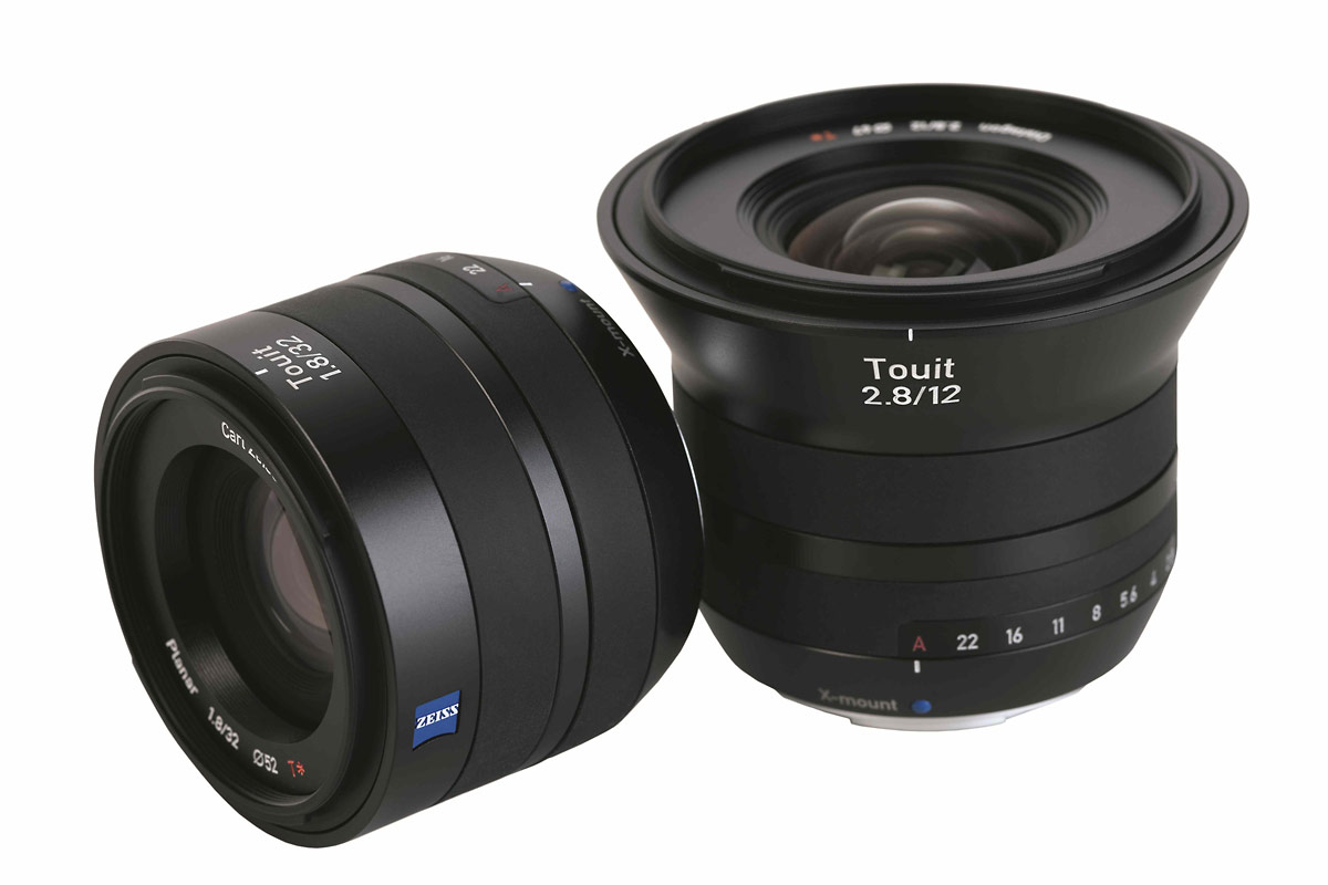 New Zeiss Touit 12mm f/2.8 & 32mm f/1.8 Lenses For Sony NEX & Fujifilm X Mirrorless Cameras