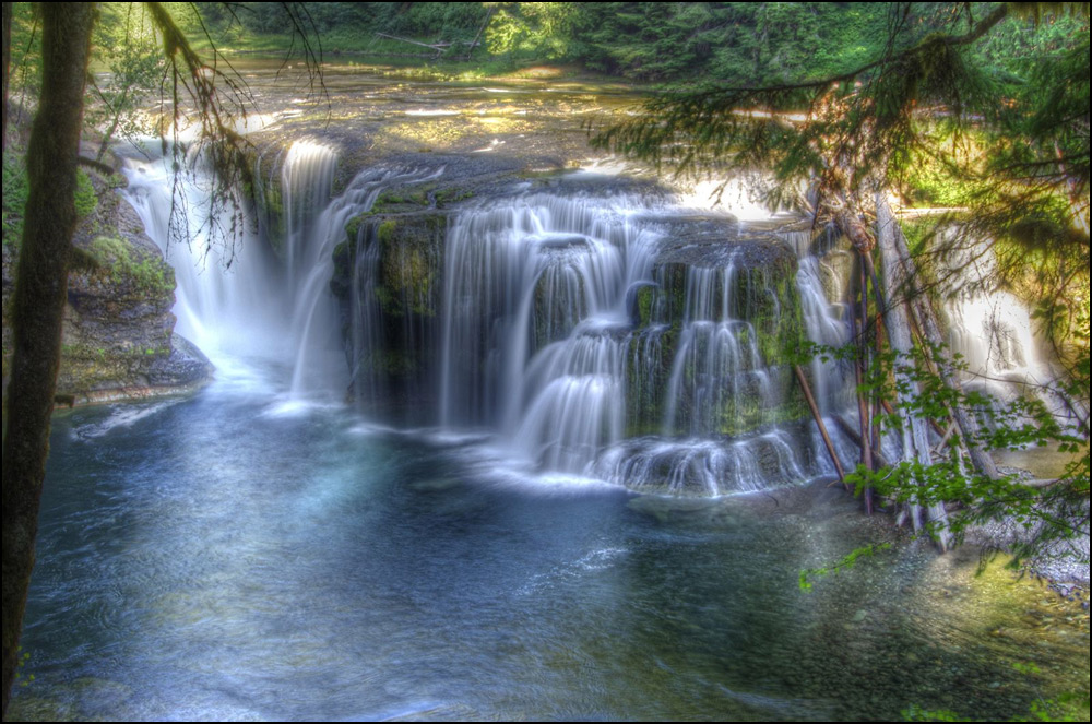 """Lower Lewis River Falls"" by NorthstarImage"