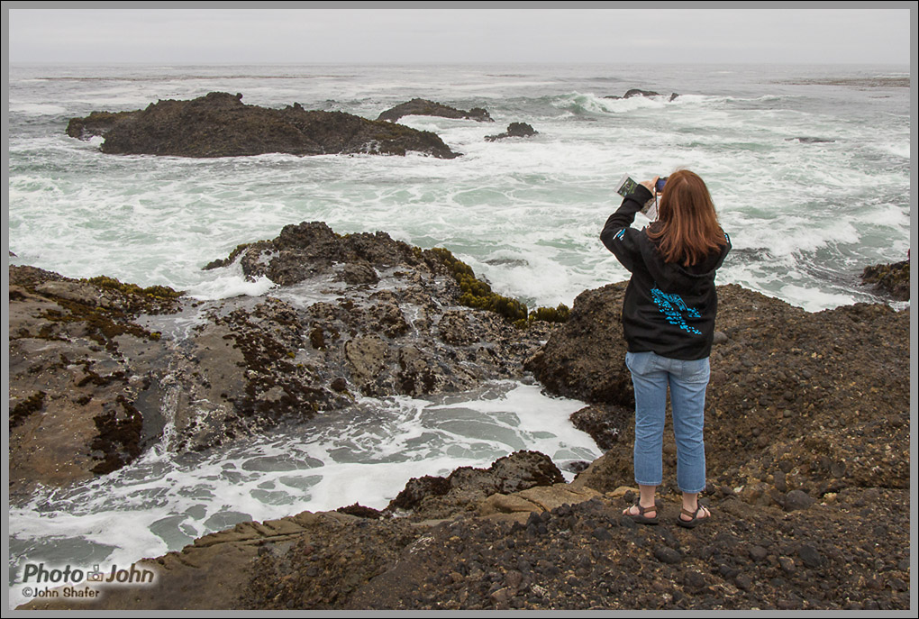 Taking Pictures At Point Lobos - Big Sur