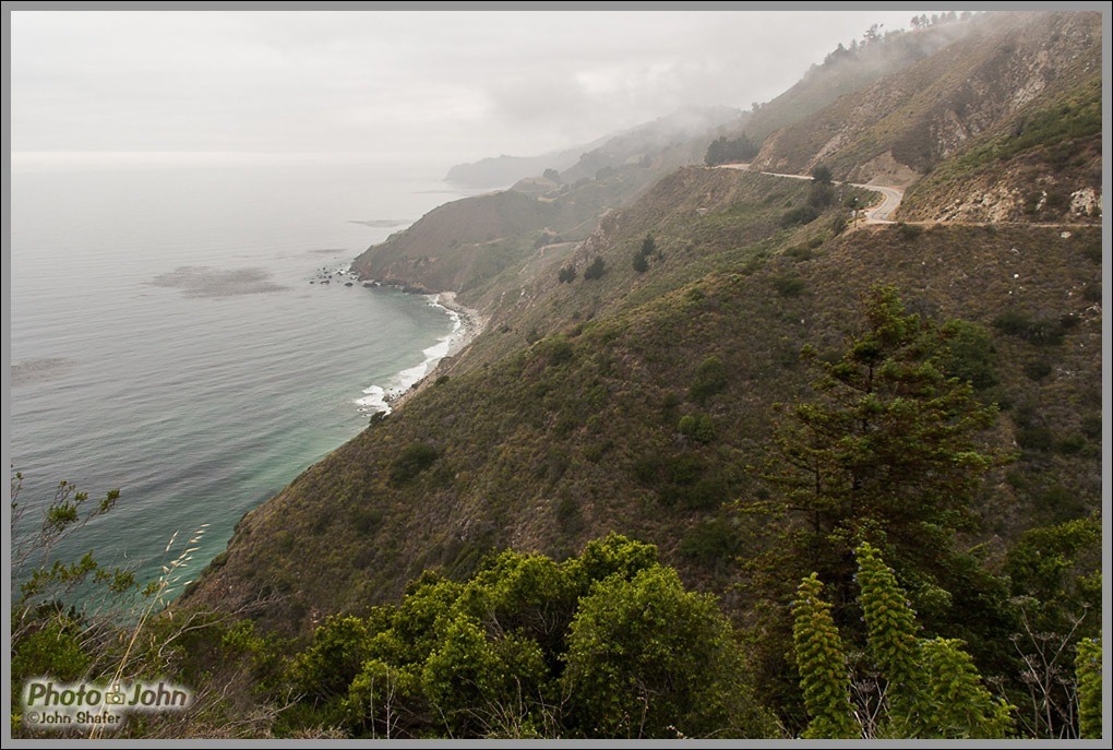 Highway 1 & Cliffs - Big Sur, California