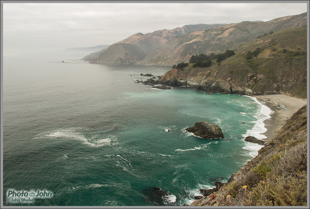 The Pacific Ocean & Big Sur Coastline