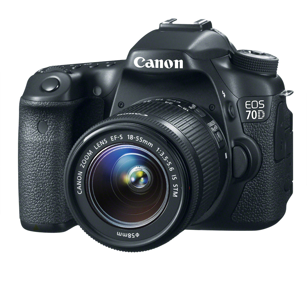 Canon EOS 70D - Front Angle
