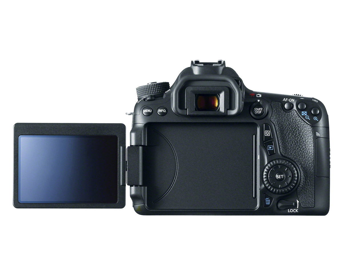 Canon EOS 70D - Open Rear