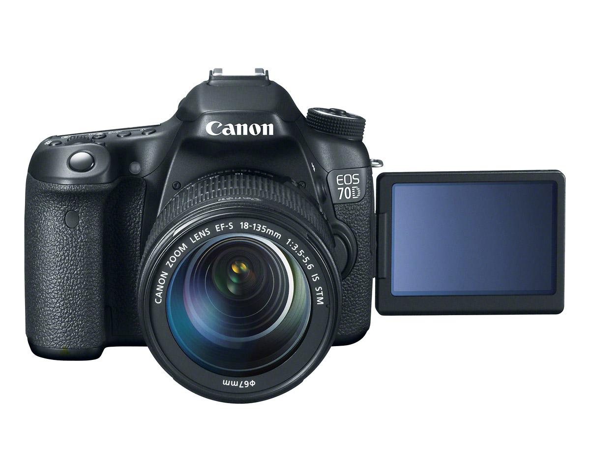 Canon EOS 70D - Open Front