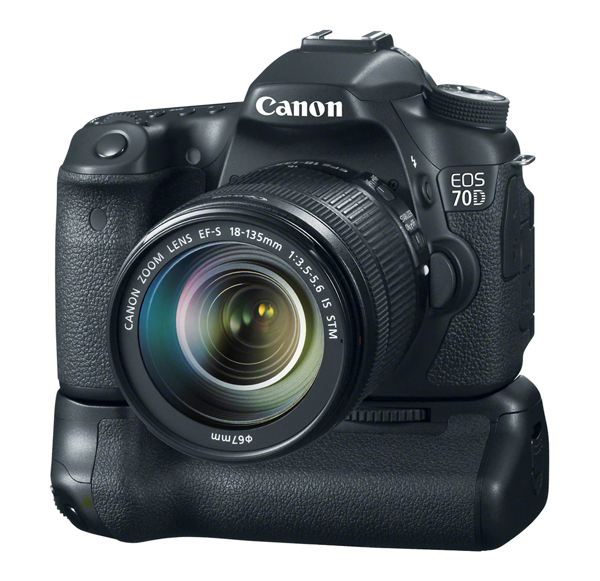 Canon EOS 70D With New Battery Grip BG-E14
