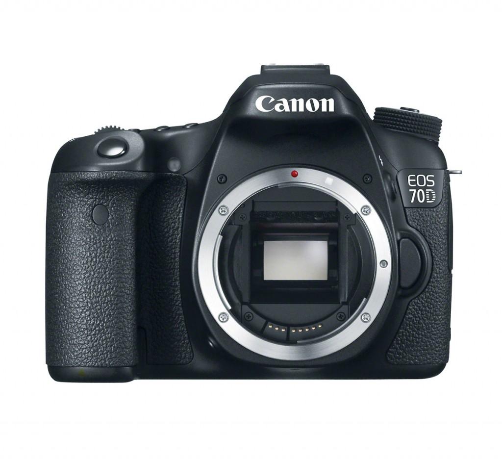Canon EOS 70D With New 20.2-MP APS-C CMOS Sensor