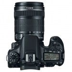Canon EOS 70D - Top View With 18-135mm IS STM Zoom Lens