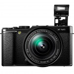 Fujifilm X-M1 Mirrorless Camera - Pop-Up Flash