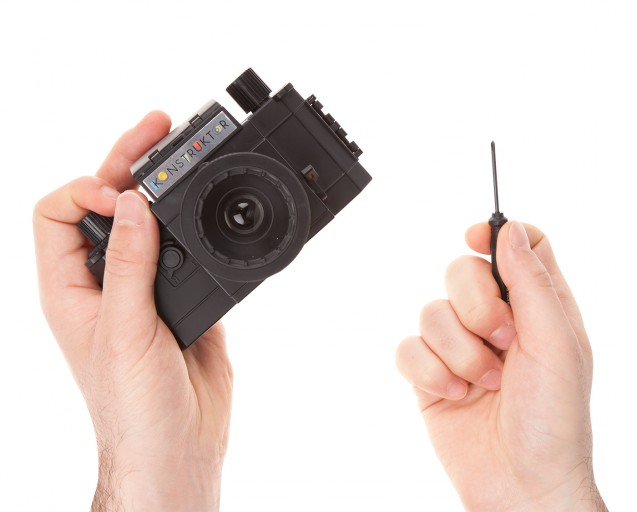 Konstruktor DIY Camera - With Screwdriver!