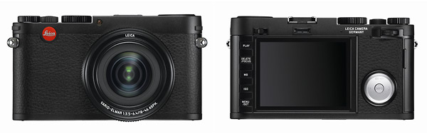 Leica X Vario - Front & Back