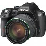 Pentax K-50 DSLR - Angle View