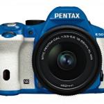 Pentax K-50 DSLR - Blue & White
