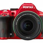 Pentax K-50 DSLR - Red