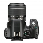 Pentax K-50 DSLR - Top View With 18-55mm Kit Lens
