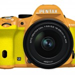 Pentax K-50 DSLR - Yellow & Orange