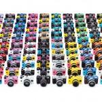 Pentax Q7 - 120 Custom Color Combinations
