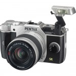 Pentax Q7 Mirrorless Camera Pop-Up Flash