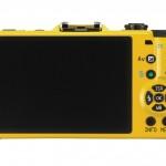 Pentax Q7 Mirrorless Camera - Yellow - Rear