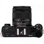 Pentax Q7 Mirrorless Camera - Top View - Black