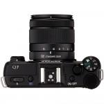 Pentax Q7 Mirrorless Camera - Top View - Black