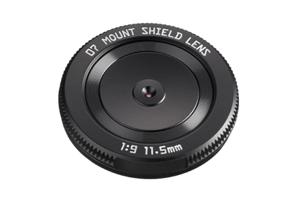 New Pentax Q Mount Shield Lens