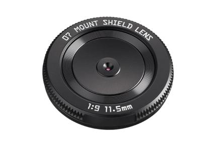 New Pentax Q Mount Shield Lens