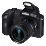 Samsung Galaxy NX Android-Powered Camera - Pop-Up Flash