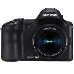 Samsung Galaxy NX Android-Powered 4G Mirrorless Camera - Front