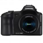 Samsung Galaxy NX Android-Powered 4G Mirrorless Camera - Front