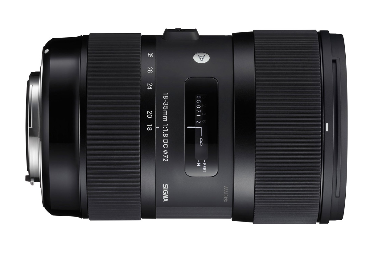 Sigma 18-35mm f/1.8 DC HSM Art Zoom Lens