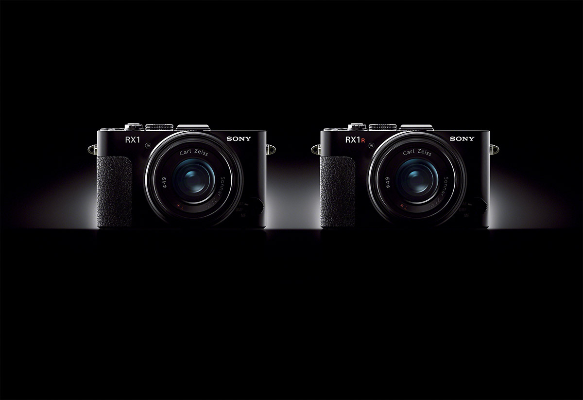 Sony RX1 and RX1R Side by Side