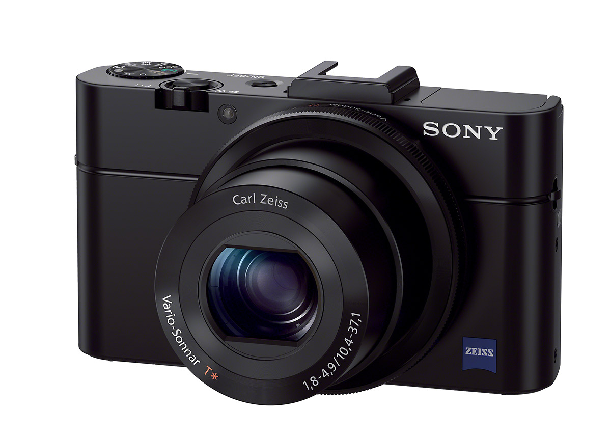 Sony Cybershot RX100 II - Front Left