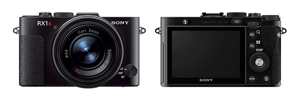 Sony Cybershot RX1R - Front & Back