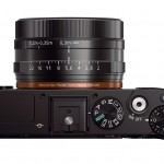 Sony RX1R - Top View With Controls & 35mm f/2.0 Carl Zeiss Lens