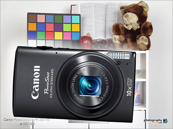 Canon PowerShot ELPH 330 HS Studio Sample Photos