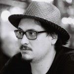 B&W Portrait Made With Petzval Lens Prototype & Canon 35mm SLR