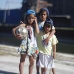Kids Sample Photo Taken With Original Petzval Lens & Canon EOS 5D