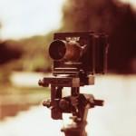 An Original Petzval Lens On A Sinar View Camera