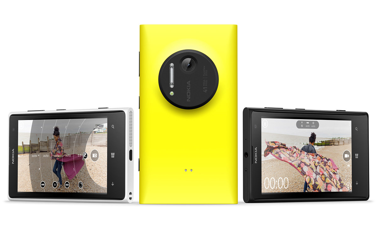 Nokia Lumia 1020 Smart Phone With 41-Megapixel PureView Sensor