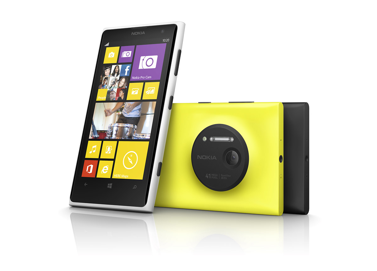 Nokia 1020 Smart Phone - Available Colors