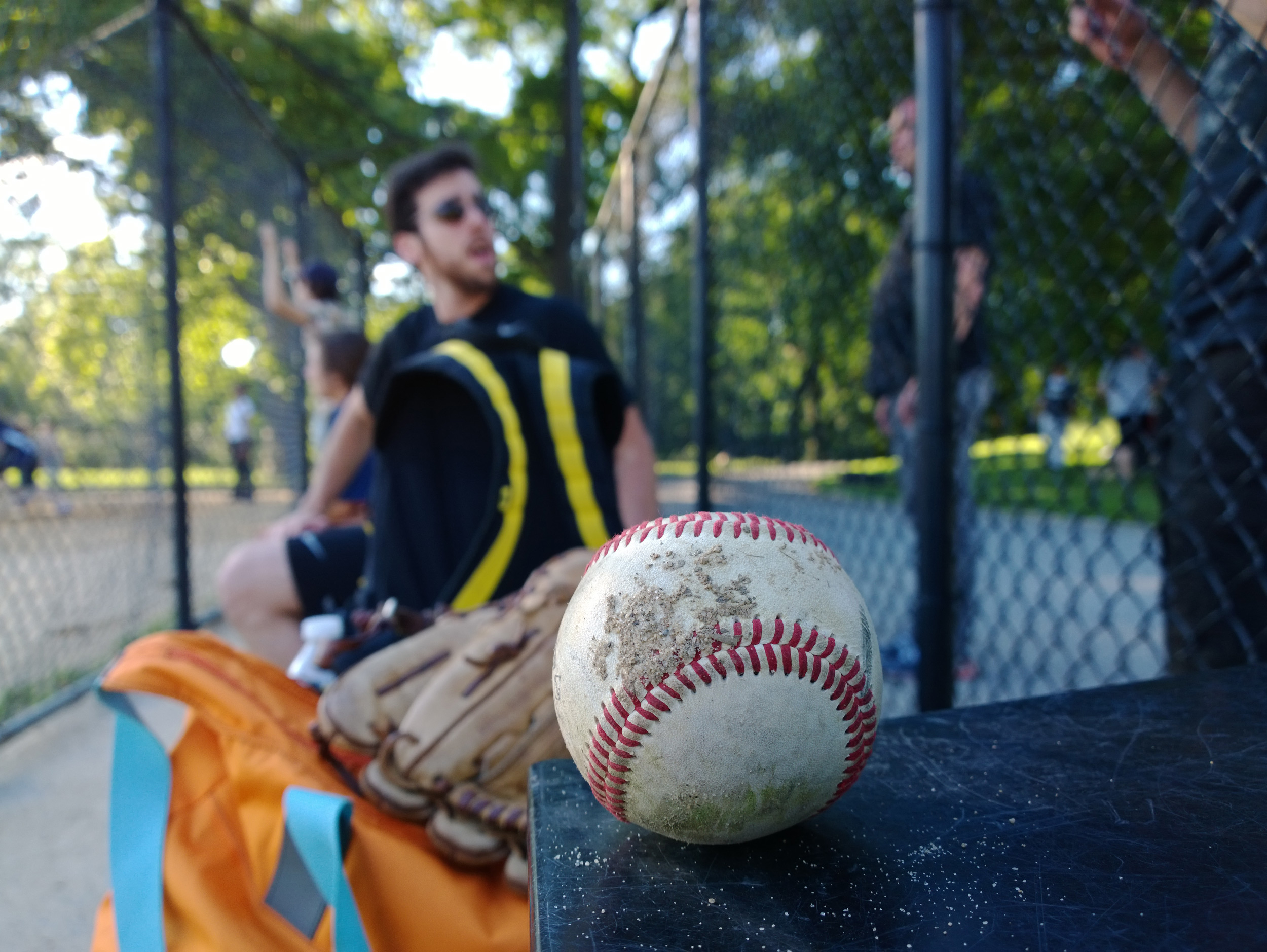 Nokia Lumia 1020 Baseball Sample Photo