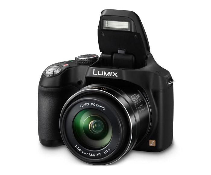 Panasonic Lumix FZ70 - Pop-Up Flash