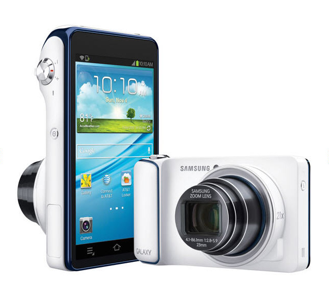 Samsung Galaxy Camera With Android & 4G Mobile Service