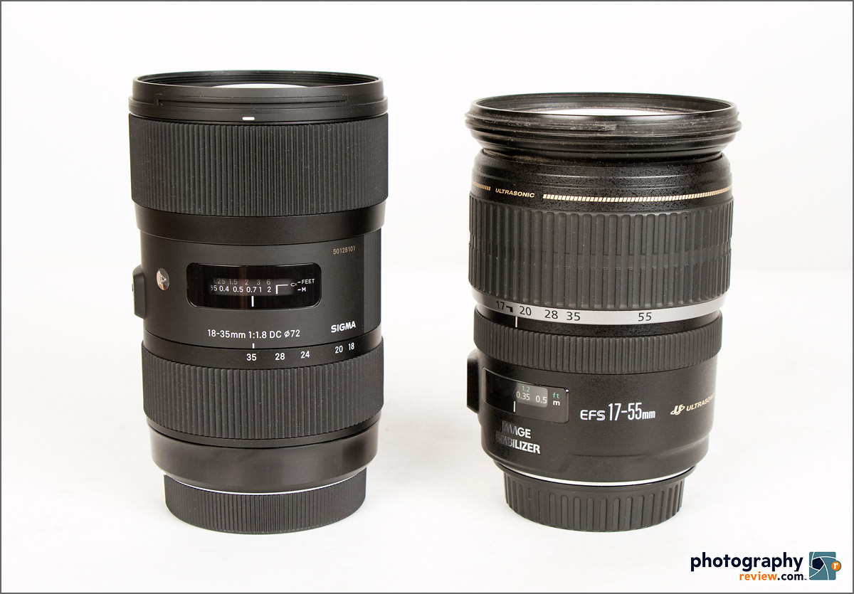 Sigma 18-35mm f/1.8 & Canon EF-S 17-55mm f/2.8 IS Zoom Lenses