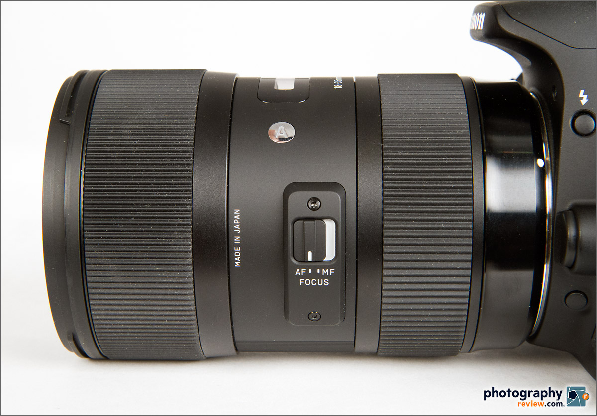 Sigma 18-35mm f/1.8 DC HSM Zoom Lens - Auto Focus Switch